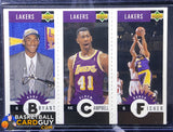 Kobe Bryant 1996-97 Collector's Choice Mini-Cards GOLD #L1 RC - Basketball Cards
