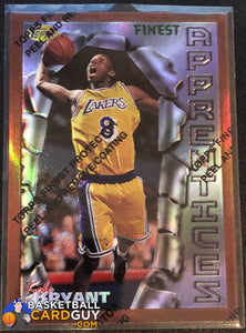 Kobe Bryant 1996-97 Finest Refractors #74 RC - Basketball Cards