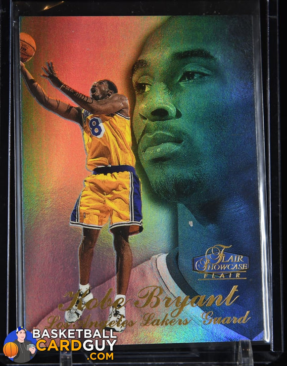 Kobe Bryant 1997-98 Flair Showcase Row 3 #18 (2nd year) basketball card