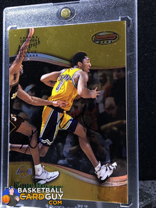 Kobe Bryant 1998-99 Bowman's Best Autographs #A1 (Rare On-Card) - Basketball Cards