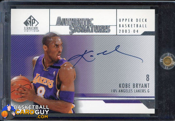 Kobe Bryant 2003-04 SP Signature Edition Signatures #KB - Basketball Cards