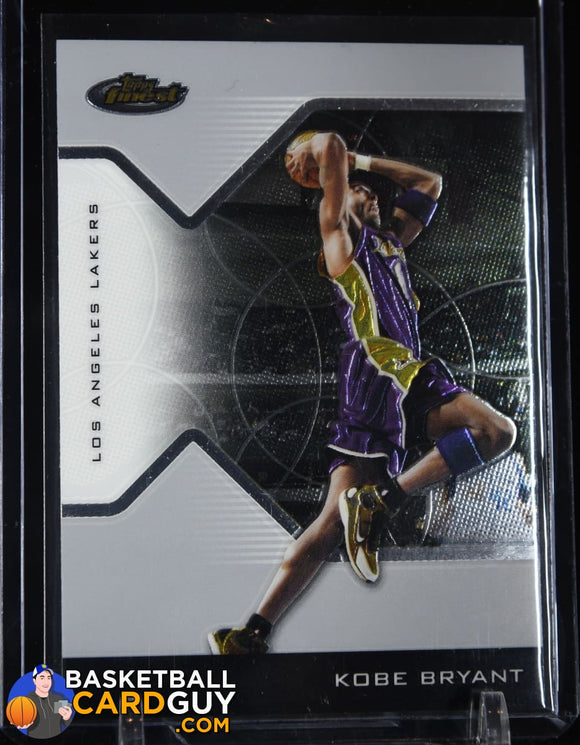 Kobe Bryant 2004-05 Finest #8 basketball card