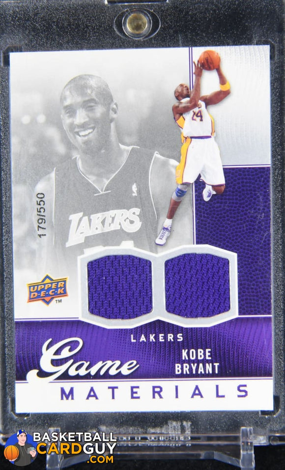 Kobe Bryant 2009-10 Upper Deck Game Materials #GJKO #/550 - Basketball Cards