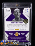 Kobe Bryant 2014-15 Panini Spectra Spectacular Swatches Signatures - Basketball Cards