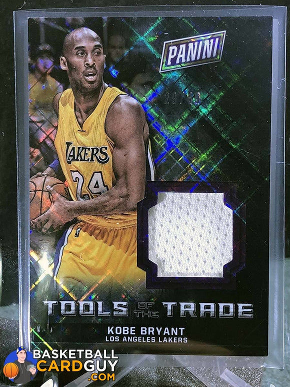 Kobe Bryant 2016 Panini National Convention Tools of the Trade Diamond Awe Jersey  #/49 - Basketball Cards