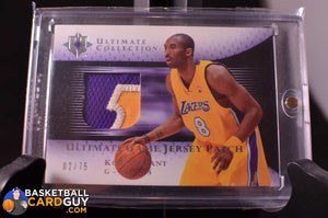 Kobe Bryant Ultimate Collection Patch /75 - Basketball Cards