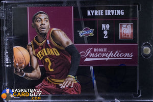 Kyrie Irving 2012-13 Elite Rookie Inscriptions #1 RC - Basketball Cards
