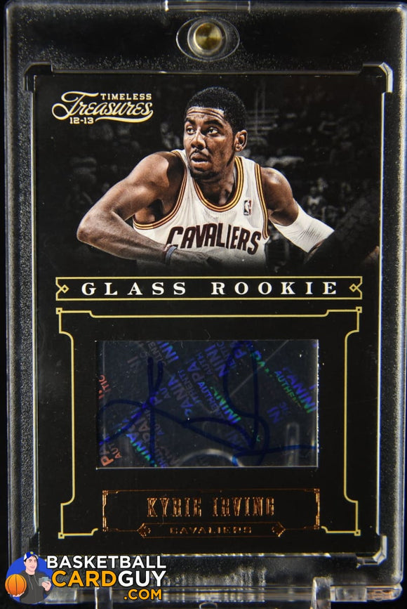 Kyrie Irving 2012-13 Timeless Treasures #212 AU #/399 RC autograph, basketball card, numbered, rookie card