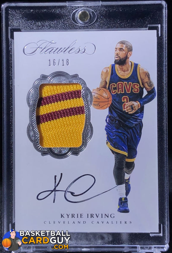 Kyrie Irving 2016-17 Panini Flawless Signature Prime Memorabilia #/18 - Basketball Cards