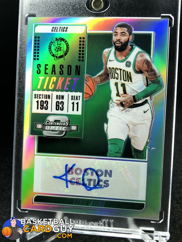 Kyrie Irving 2018-19 Panini Contenders Optic Veteran Ticket Autographs - Basketball Cards