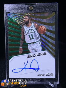 Kyrie Irving 2018-19 Panini Revolution Autographs #10 - Basketball Cards