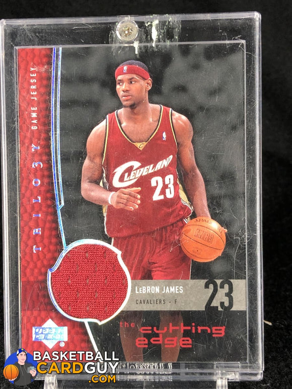 LeBron James 2004-05 Upper Deck Trilogy The Cutting Edge #LJ SP - Basketball Cards