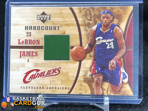 LeBron James 2006-07 Upper Deck Hardcourt Game Floor #21 - Basketball Cards