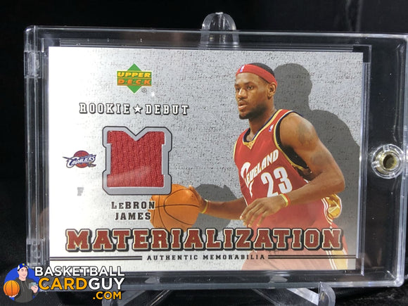 LeBron James 2006-07 Upper Deck Rookie Debut Materialization - Basketball Cards