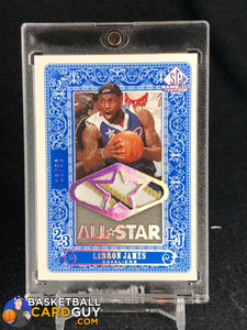 LeBron James 2007-08 SP Game Used All-Star Jersey Patch #/50 - Basketball Cards