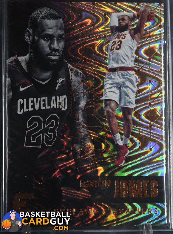 LeBron James 2017-18 Panini Essentials Spiral #78 basketball card