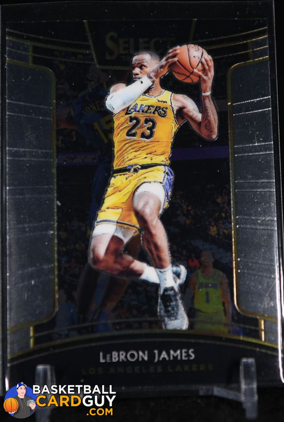 LeBron James 2018-19 Select #11 basketball card, rookie card