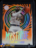 LeBron James 2019-20 Panini Illusions Mystique Orange #7 basketball card