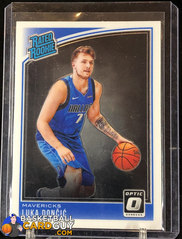 Luka Doncic 2018-19 Donruss Optic #177 RR RC - Basketball Cards