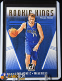 Luka Doncic 2018-19 Panini Donruss Rookie Kings Rookie Card # 20 Press Proof basketball card, rookie card