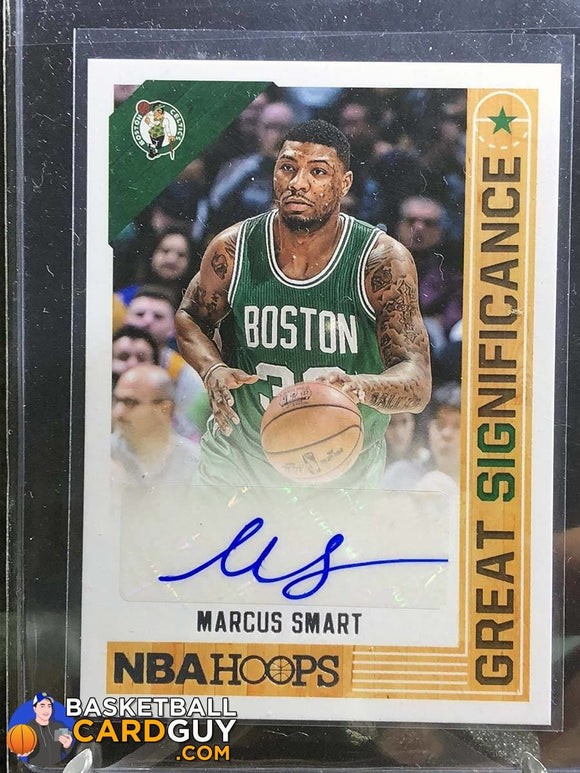 Marcus Smart 2014-15 Hoops Great SIGnificance - Basketball Cards