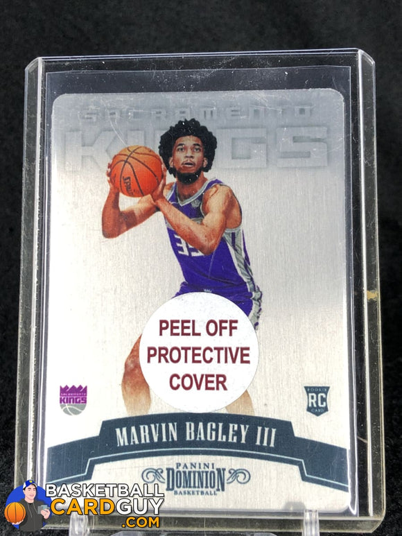 Marvin Bagley III 2018-19 Panini Dominion #/199 MET RC - Basketball Cards