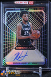 Marvin Bagley III 2018-19 Panini Obsidian Matrix Autographs #/50 - Basketball Cards