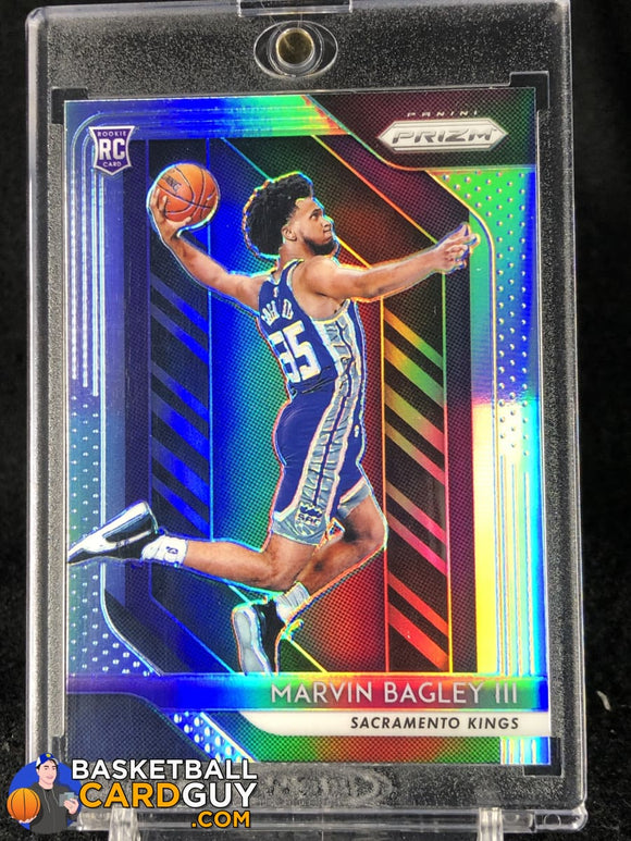 Marvin Bagley III 2018-19 Panini Prizm Prizms Silver #181 - Basketball Cards