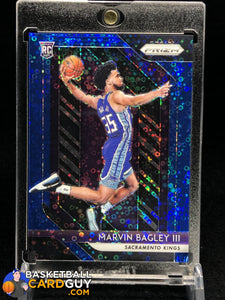 Marvin Bagley III 2018-19 Prizm RC Fast Break Blue Refractor #/175 - Basketball Cards