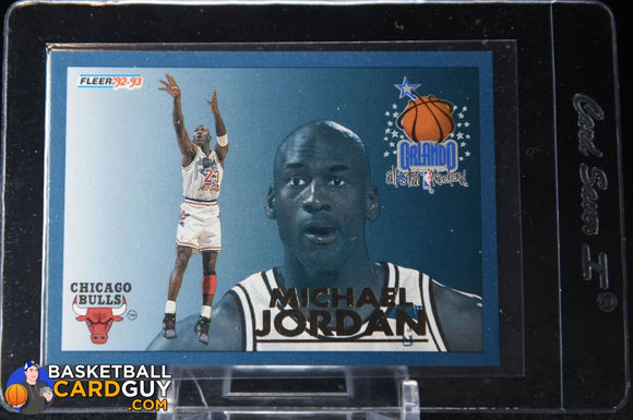 Michael Jordan 1992-93 Fleer All-Stars #6 - Basketball Cards