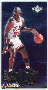 Michael Jordan 1995-96 Jam Session Show Stoppers #3 - Basketball Cards