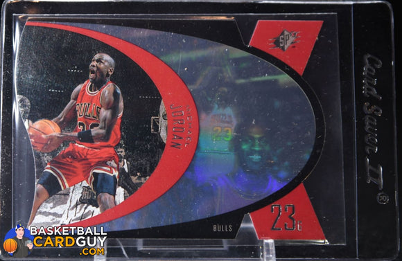 Michael Jordan 1997 SPx #5 - Basketball Cards