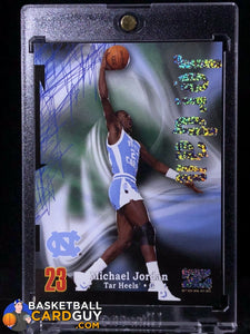 Michael Jordan 2012-13 Fleer Retro 97-98 Z-Force Rave - Basketball Cards
