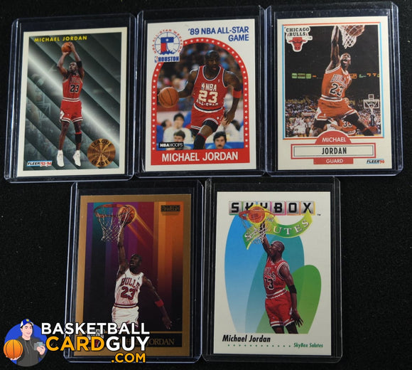 Michael Jordan Player Bundle #1 - Finest & Prizm basketball card, bundle
