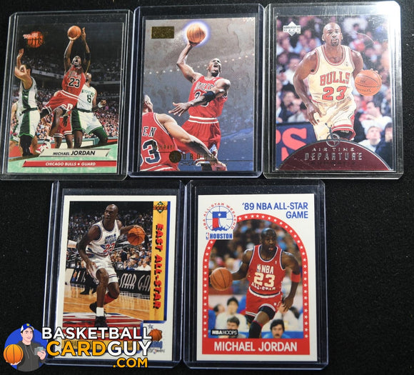 Michael Jordan Player Bundle #3 - 80's and 90's Cards basketball card, bundle, lot