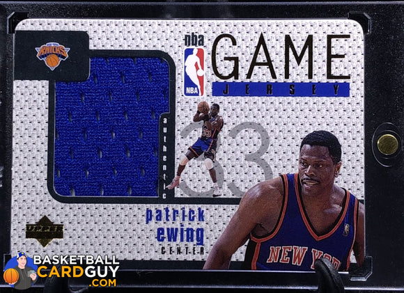 Patrick Ewing 1997-98 Upper Deck Game Jerseys #GJ20 - Basketball Cards