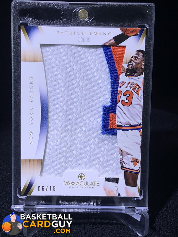 Patrick Ewing 2012-13 Immaculate Collection Logos #/16 - Basketball Cards