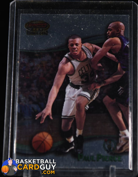 Paul Pierce 1998-99 Bowman's Best #110 RC basketball card, rookie card