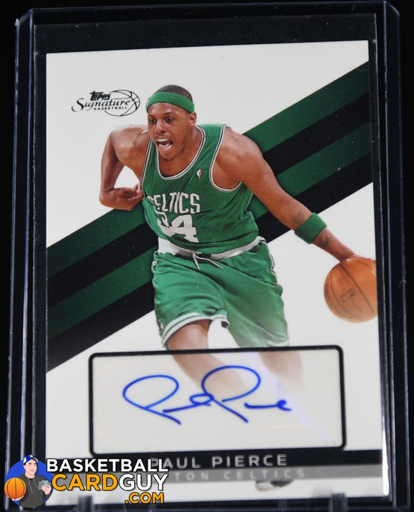 Paul Pierce 2008-09 Topps Signature Autographs #TSAPP #/1999 autograph, basketball card, numbered