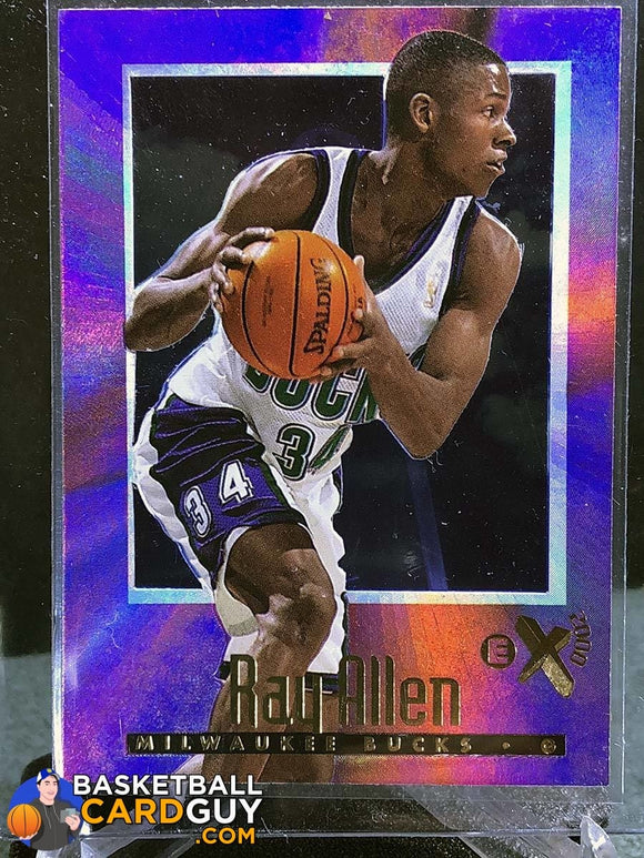 Ray Allen 1996-97 E-X2000 #37 RC - Basketball Cards