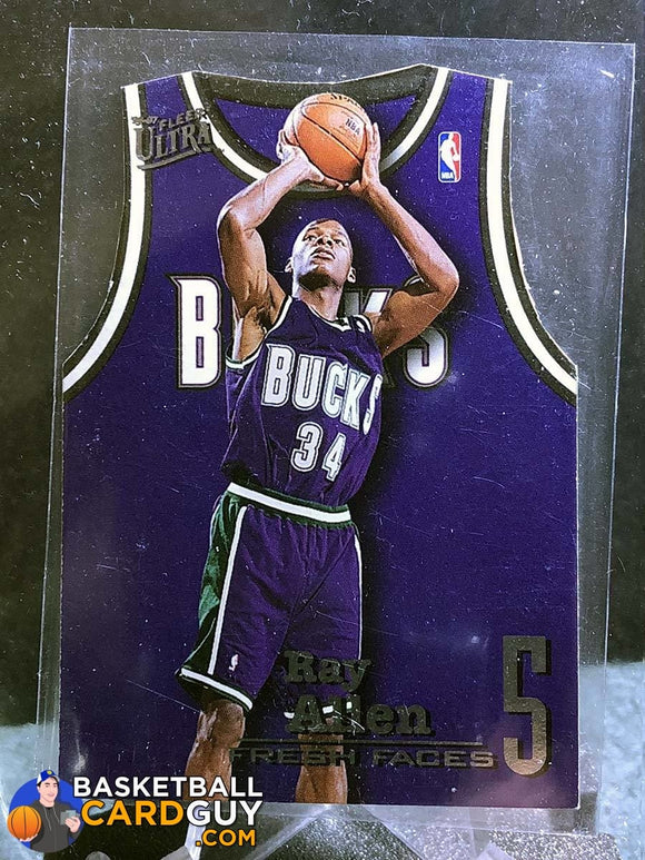 Ray Allen 1996-97 Ultra Fresh Faces - Basketball Cards