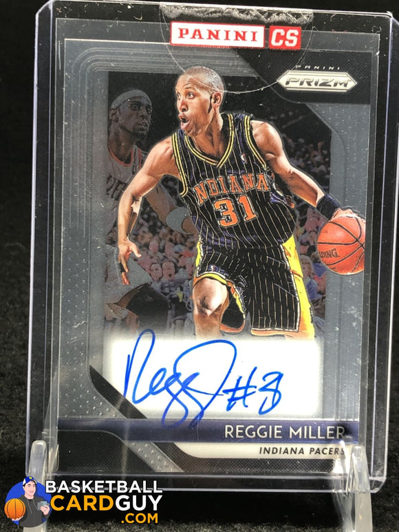 Reggie Miller 2018-19 Panini Prizm Signatures Sealed - Basketball Cards