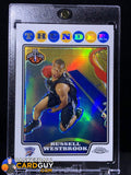 Russell Westbrook 2008-09 Topps Chrome Refractor RC - Basketball Cards
