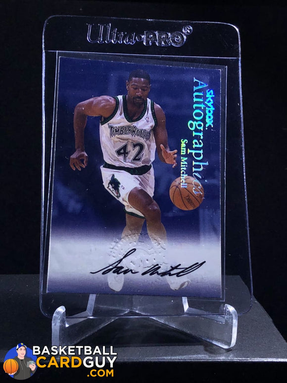 Sam Mitchell 1999-00 Skybox Premium Autographics - Basketball Cards