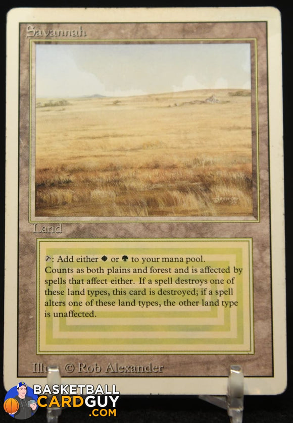 Savannah Dual Land 1993 Magic The Gathering Unlimited #281 R magic the gathering