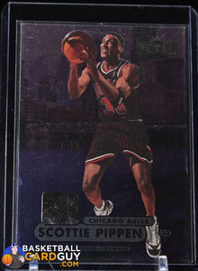 Scottie Pippen 1997-98 Metal Universe Championship #85 - Basketball Cards