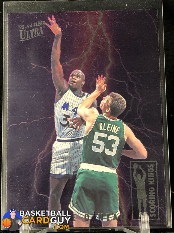 Shaquille O'Neal 1993-94 Ultra Scoring Kings #8 - Basketball Cards