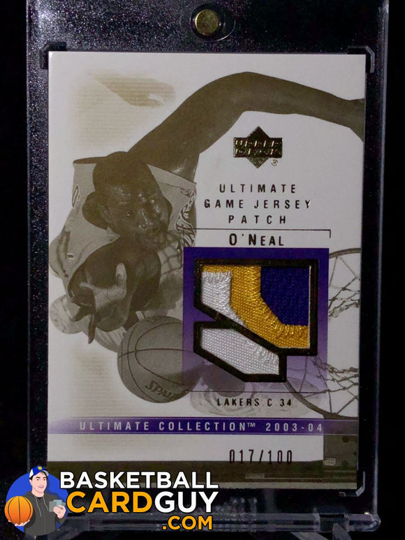 Shaquille O'Neal 2003-04 Ultimate Collection Patches - Basketball Cards