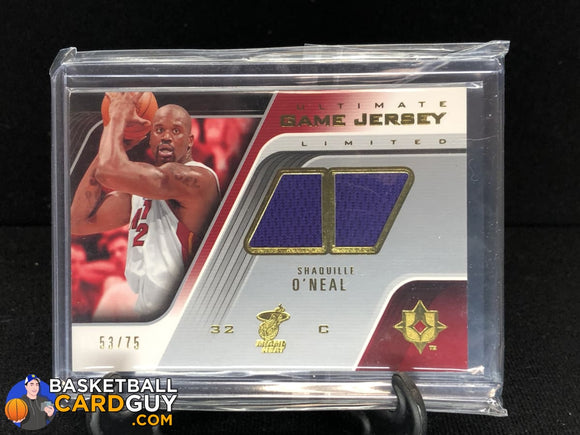 Shaquille O'Neal 2004-05 Ultimate Collection Game Jerseys Limited #SO - Basketball Cards