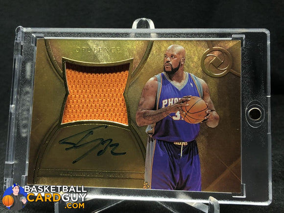 Shaquille ONeal 2017-18 Panini Opulence Precious Swatch Signatures #/25 autograph basketball card jersey numbered